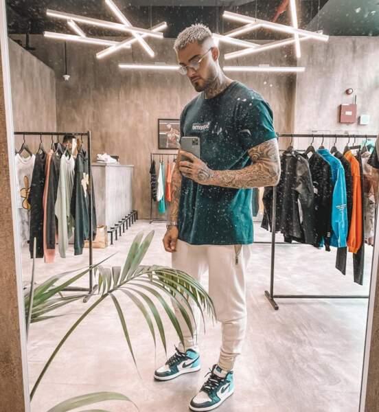 Dans la vie, Thibault adore la mode