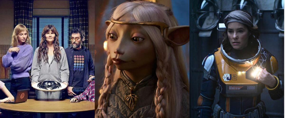Netflix : Mytho, Dark Crystal, Perdus dans l'espace... Quelles sont les séries à rattraper pendant les fêtes d