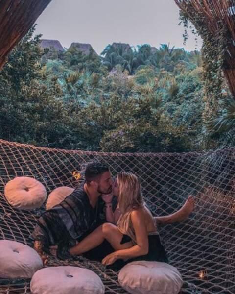 Après le tournage des Marseillais, Kevin et Carla profitent d'une pause en amoureux