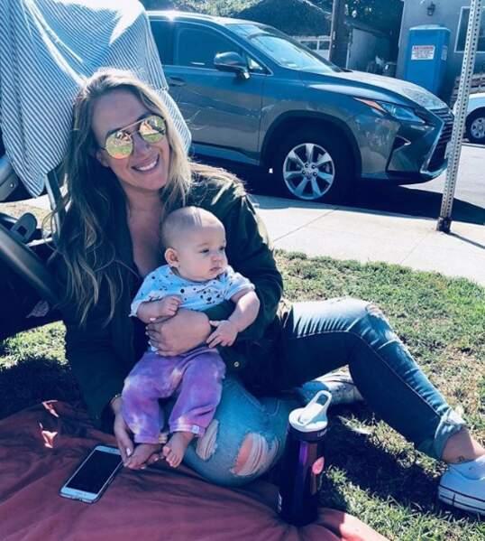 La star et Matt Rosenberg ont eu un autre enfant, Lulu Gray