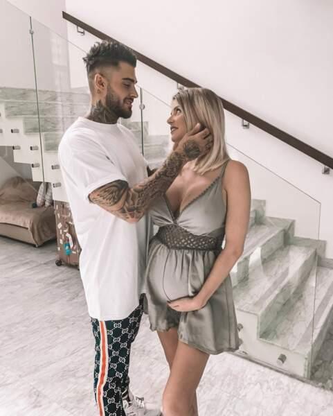 En 2019, Thibault et Jessica ont vécu un heureux événement en devenant parents d'un petit Maylone