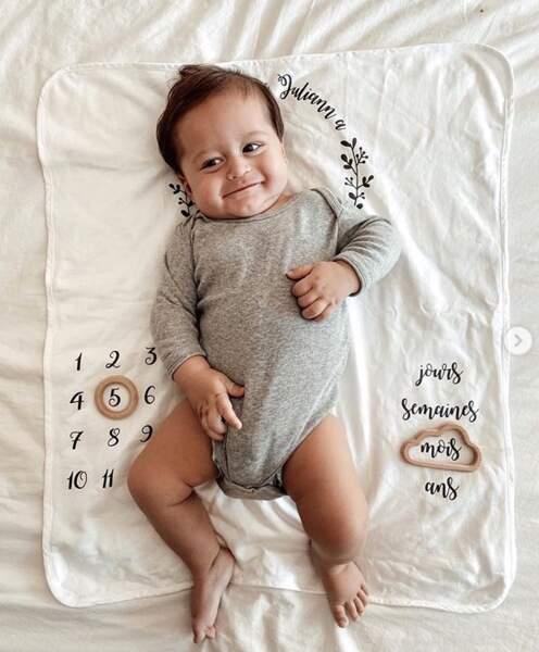 Le fils de Jesta et Benoit a eu cinq mois ! Joyeux moisniversaire