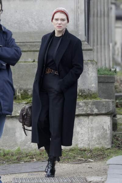 Anna Karina, décédée Lea-seydoux