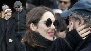 Obsèques d'Anna Karina : les adieux de son mari et de Marion Cotillard, Jane Birkin, Philippe Katerine… (PHOTOS)