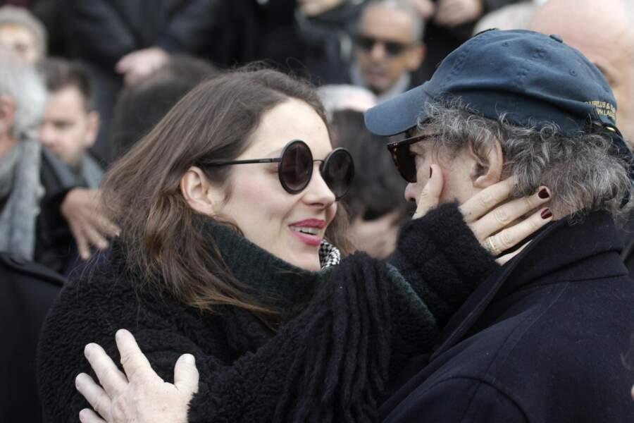 Anna Karina, décédée Dennis-berry-a-notamment-recu-les-condoleances-de-marion-cotillard