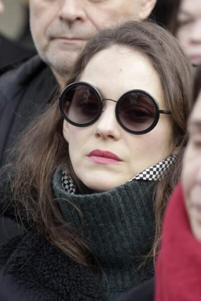 Anna Karina, décédée Marion-cotillard
