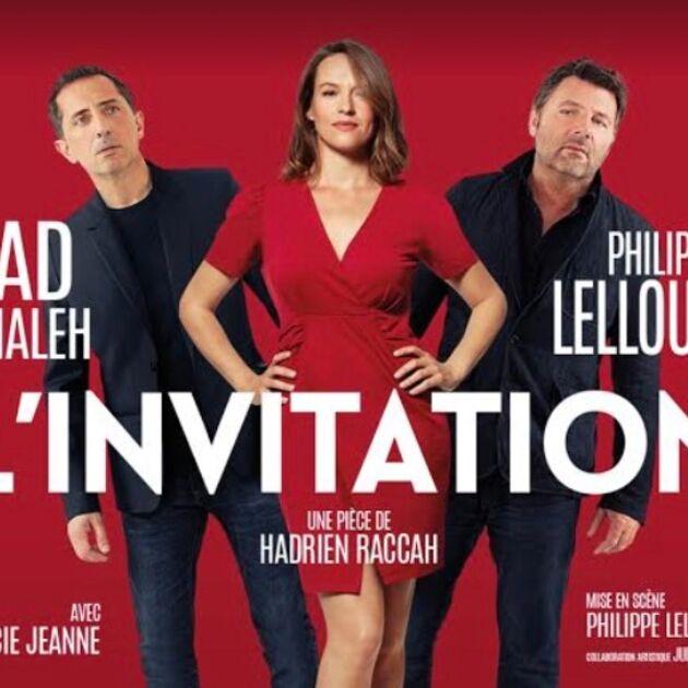 L'Invitation (Paris Première) : Gad Elmaleh et Philippe Lellouche déchaînés dans la pièce de théâtre ! (VIDEO)