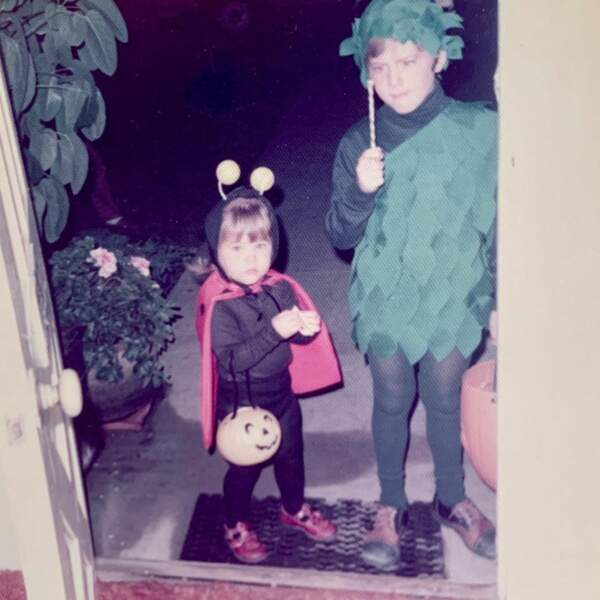 Déjà toute petite, Tiffani Thiessen appréciait cette fête costumée