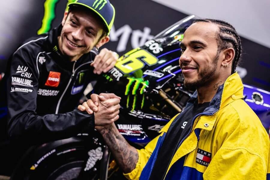 Et le champion de Moto GP, Valentino Rossi