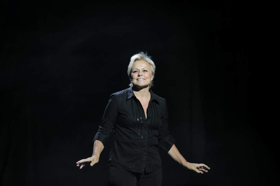 Muriel Robin de retour sur scène après 8 ans d'absence, en nov.2013