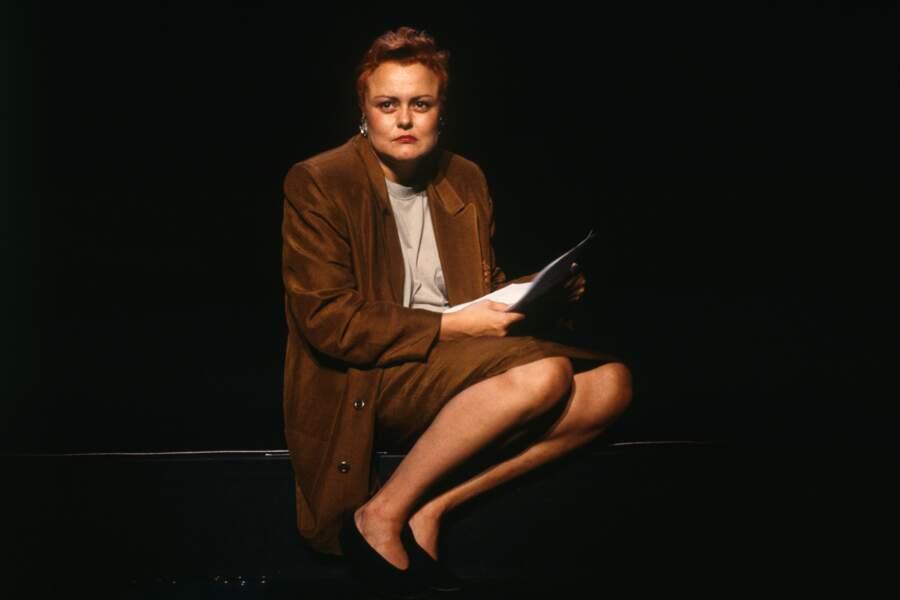 """1988, Son premier """"One woman  Show"""" les Majorettes se cachent pour mourir"""""""