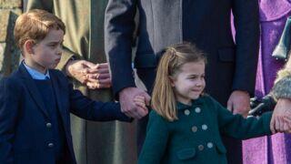 George et Charlotte : les photos de leur première messe de Noël vont vous faire craquer !