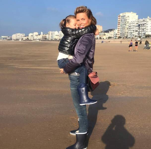 La petite fille a aujourd'hui 5 ans et comble sa maman de bonheur