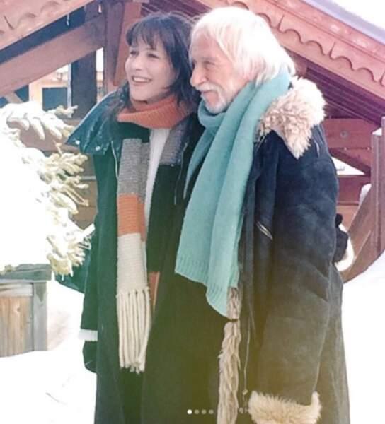 Avec Pierre Richard au Festival de l'Alpe d'Huez