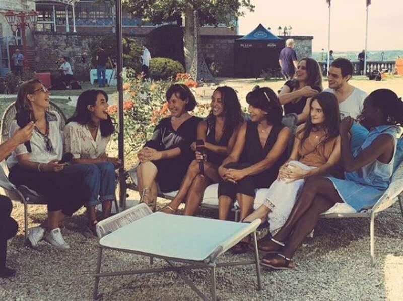 Avec l'équipe de La Taularde à Angoulême