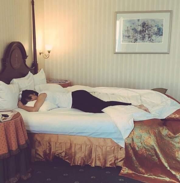Grand lit pour petite sièste