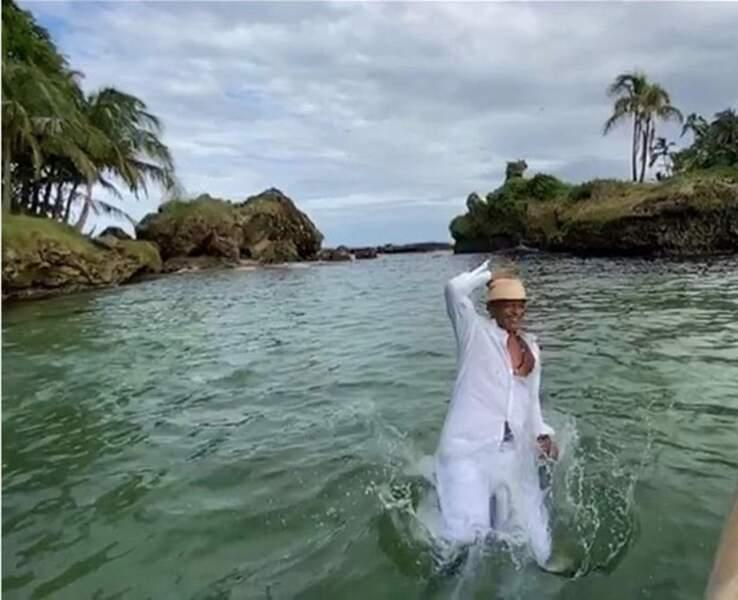 Yannick Noah fait le grand plongeon