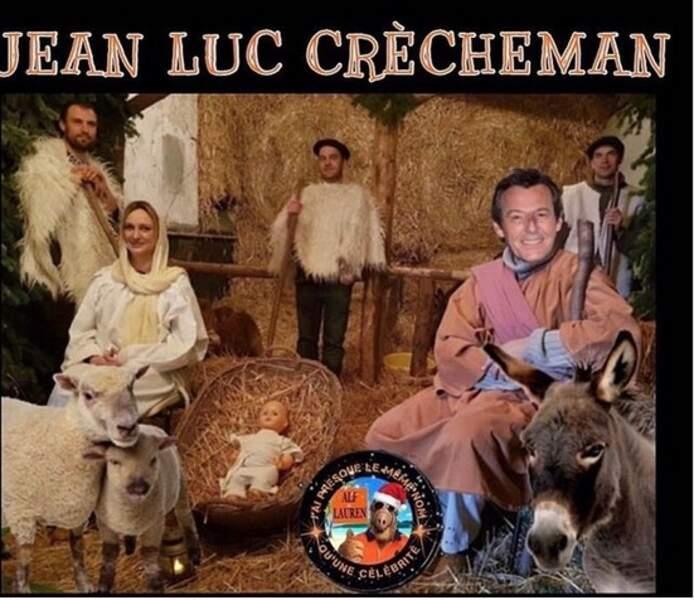 A Noël, Jean-Luc Reichmann s'est pris pour Joseph