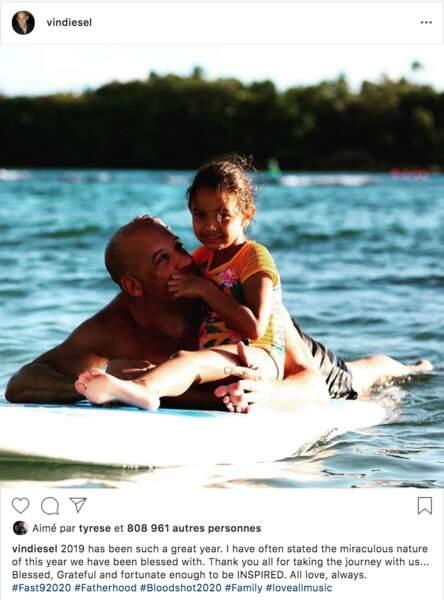 Niveau embarcation en tout cas, Franck Gastambide n'a rien à envier au vrai Vin Diesel
