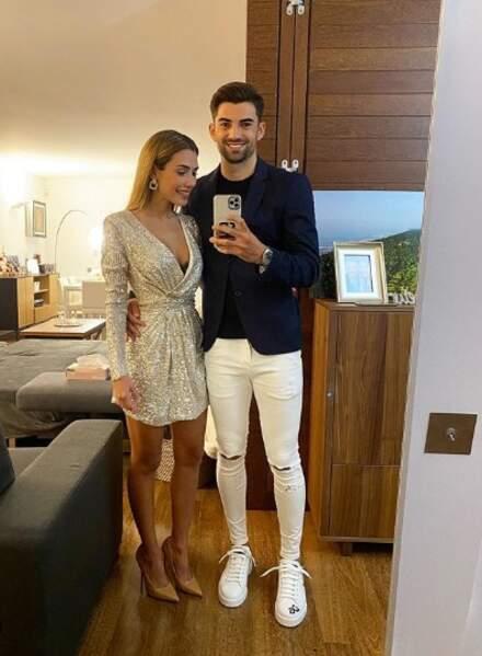 L'aîné de Zizou, Enzo Zidane, et sa Karen chérie démarre l'année en amoureux