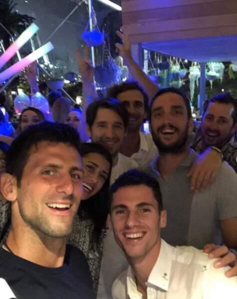 """Novak Djokovic vous souhaite """"tout son amour"""" depuis Brisbane (Australie)"""