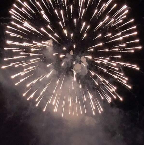 Pour David Ginola, rien ne vaut un bon feu d'artifice pour démarrer l'année en beauté !