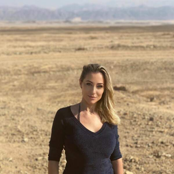 Petite pause dans le désert, au calme.