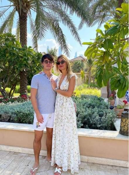 Le fils de Didier Deschamps, Dylan, en charmante compagnie à Dubaï