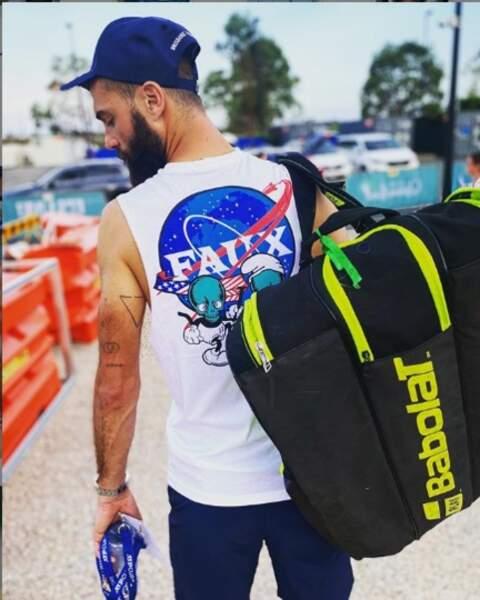 Le tennisman Benoît Paire, prêt pour son objectif 2020 : participer aux JO de Tokyo