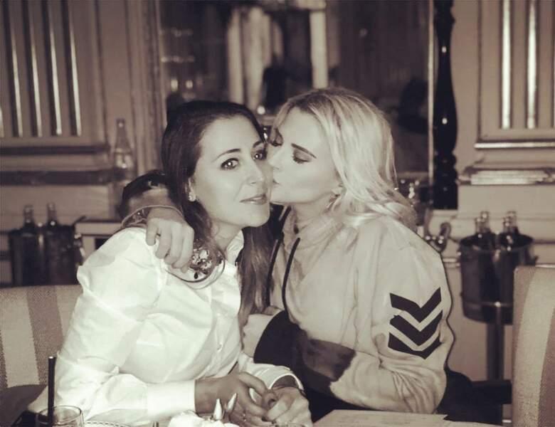 Avec Kelly Vedovelli, elles sont copines dans la vraie vie, et ne s'en cachent pas !