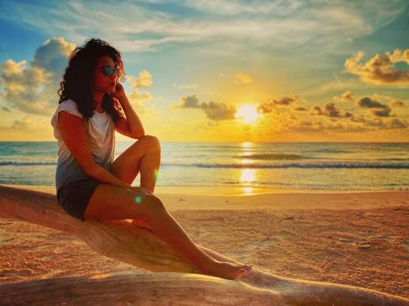 """Sabrina Ouazani vous envoie """"le meilleur pour 2020"""" depuis Tulum, au Mexique"""