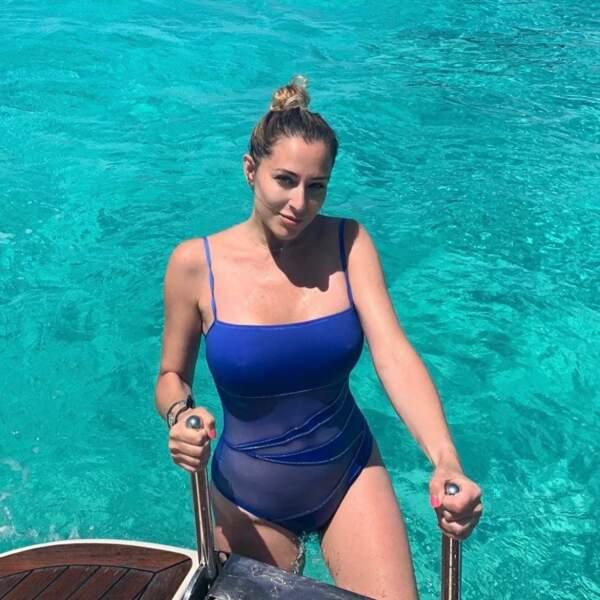 2019 fût aussi une année aquatique pour notre influenceuse ! Ici, à Ibiza...