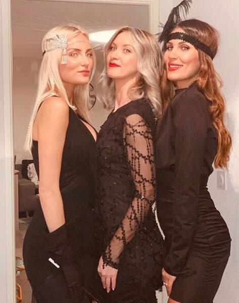 Wafa a passé un réveillon entre amies ! Quelque chose nous dit que le thème de la soirée était Gatsby le magnifique...