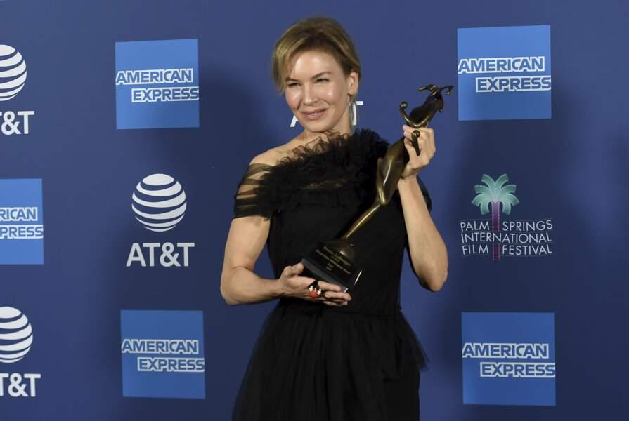 L'actrice a été félicitée pour son incroyable performance dans le film Judy