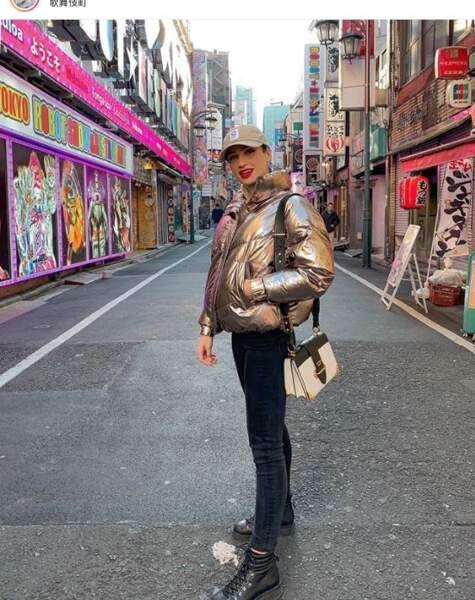 Plage ou neige ? Sissy Mua a tranché : elle est à Tokyo !