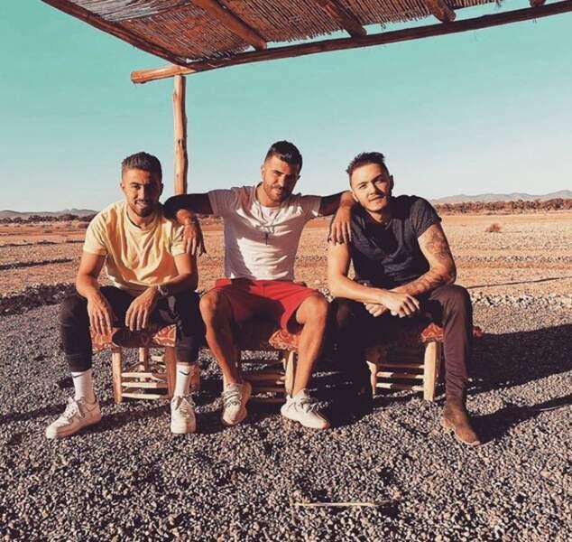 """Oussama se la coule douce à Marrakech avec Toto des """"Anges"""" et Lakhdar"""