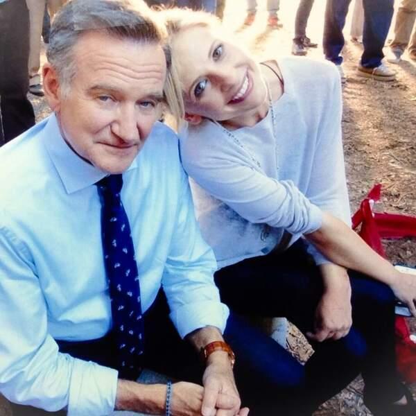 L'actrice a joué dans The Crazy Ones avec Robin Williams ! Une belle complicité s'était nouée entre eux