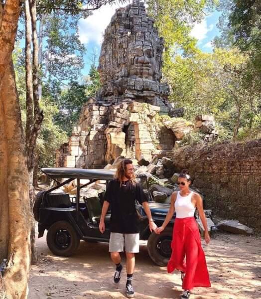 Maxime et Alizée profitent d'une pause ensoleillée en Thaïlande