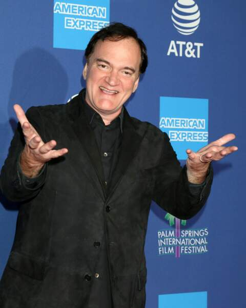 Tout comme Quentin Tarantino, très en forme !