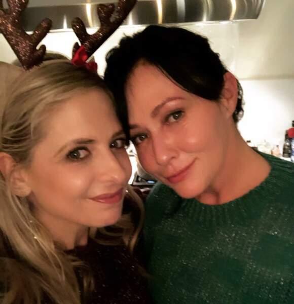 Elle est aussi la meilleure amie de Shannen Doherty, alias Prue de Charmed