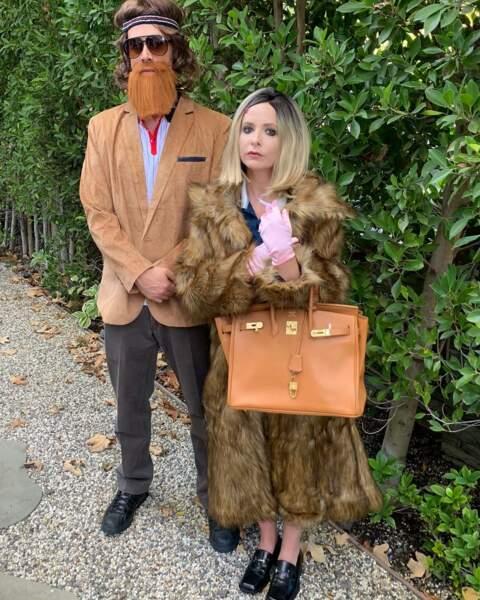 Les deux amoureux prennent Halloween très au sérieux !