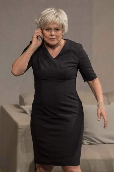 """Muriel Robin dans la Pièce """"Momo"""" au Théâtre Anthea d' Antibes,  - 2017"""