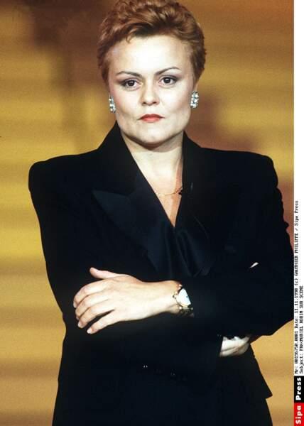 Sur scène en 1990