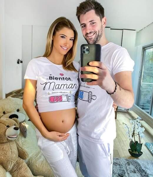 Mélanie Dedigama est enceinte de son premier enfant. Félicitations à elle et son compagnon Vincent !