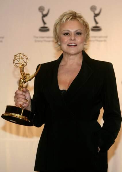 """Sacrée meilleure actrice pour sa performance dans """"Marie Besnard-l'empoisonneuse """"en novembre 2007 ."""