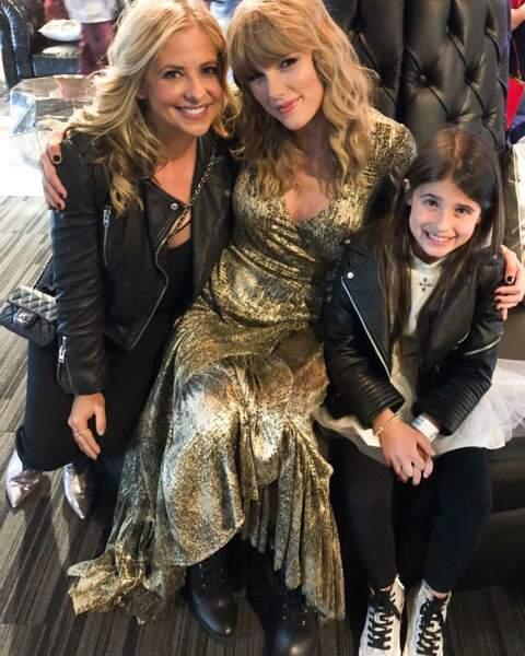 Comme sa fille, l'actrice est fan de Taylor Swift