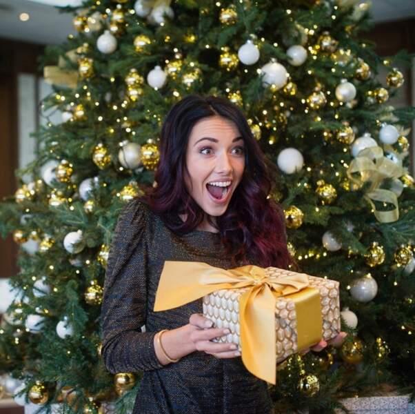 Delphine Wespiser aime célèbrer Noël