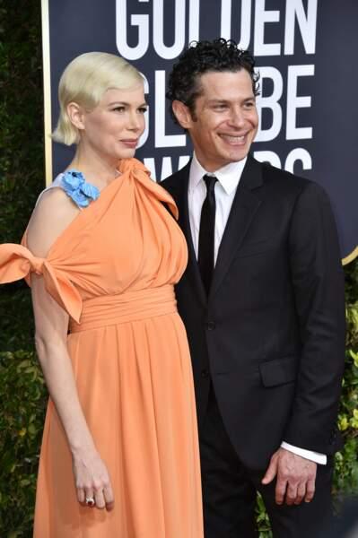 Michelle Williams et son fiancé Thomas Kail
