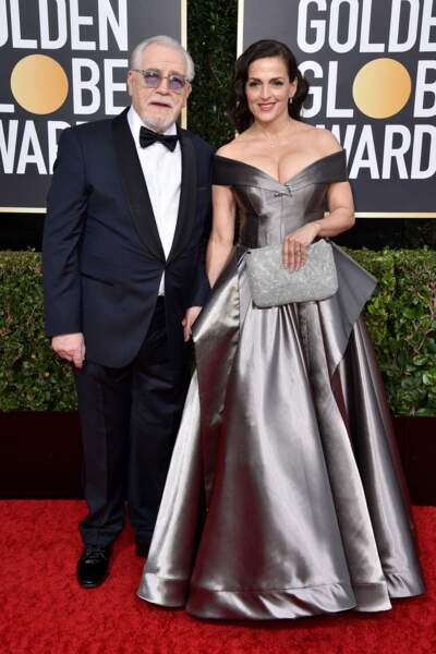 Brian Cox et sa femme Nicole Ansari-Cox