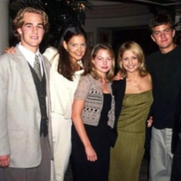 Ou à se montrer nostalgique de l'époque où elle sortait avec les acteurs de Dawson